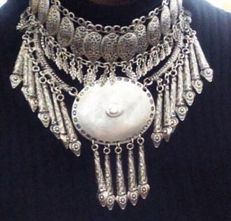 jewels gypsy neckace arab boho bohem chunky chain