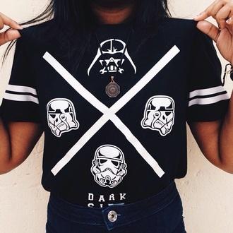 shirt star wars tshirt black shirt style