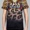 Pray for paris 'leopard' t-shirt (march 18th) | pray for paris