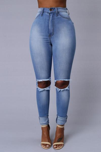 Tough Luck Jeans Fashion Nova