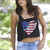 iHeart America Crop Top-Black | Obsezz