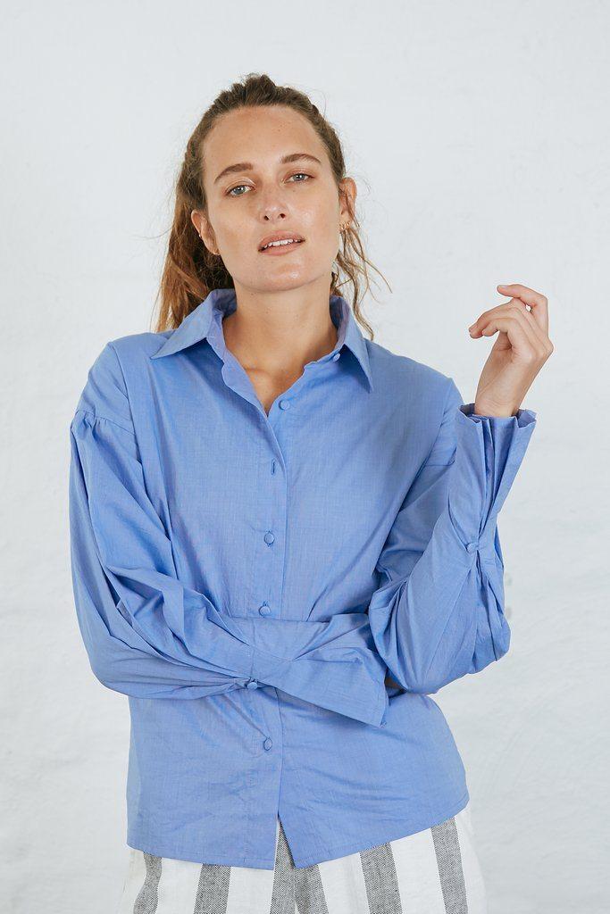 ANNIE SHIRT - BLUE