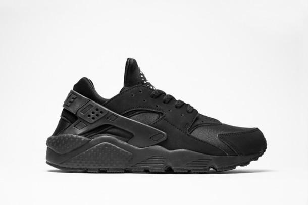 shoes black nike running shoes huarache sneakers fashion streetwear 636c0c9ef1f5