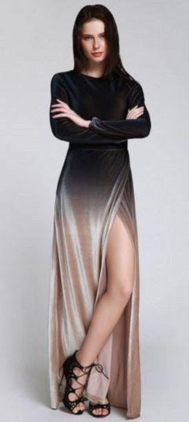 dress dress ombre gradient