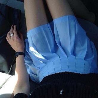 skirt blue soft grunge pale soft grunge skirt