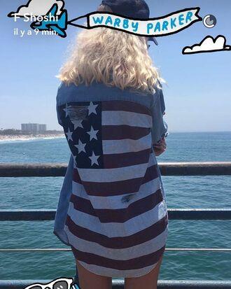 shirt usa american flag