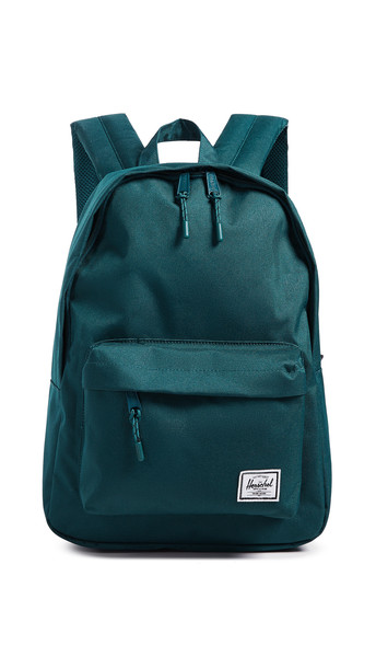 classic backpack teal bag