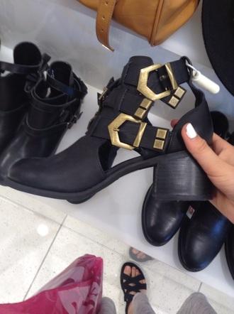 shoes black black shoes forever 21 boots boots black