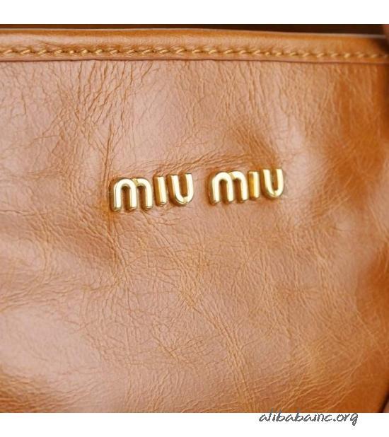 Miu Miu Vitello Tote Bag 88034 Camel - $198.98 : Alibaba Inc, Wholesale designer Gucci,Chanel handbags