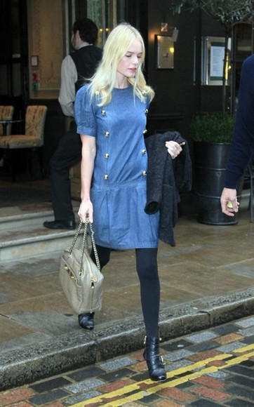kate bosworth blue dress