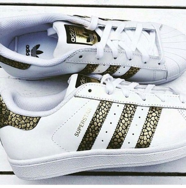 adidas superstar wit croco