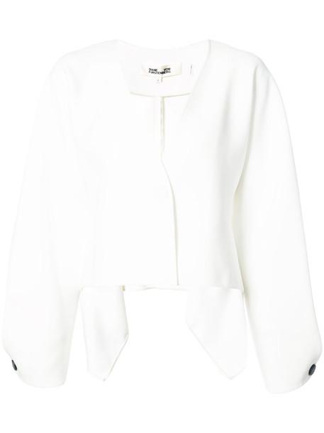 Dvf Diane Von Furstenberg jacket loose women white