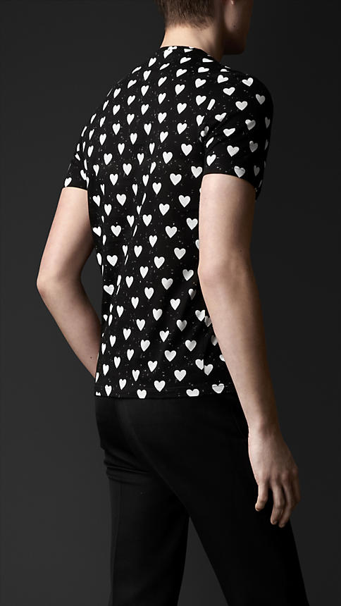 Heart Print T-shirt | Burberry