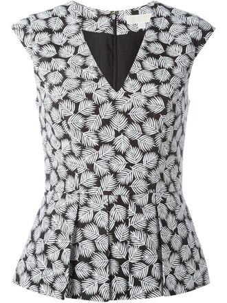 top women spandex cotton black pattern