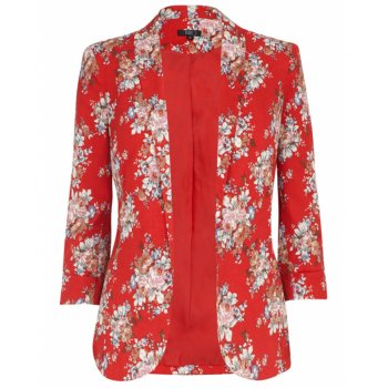 Carmen Jarlo floral Blazer | Shop Jarlo Jackets now