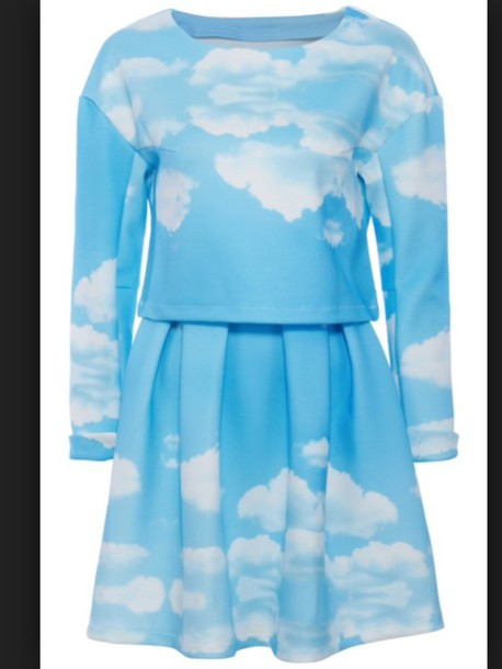 dress sky clouds