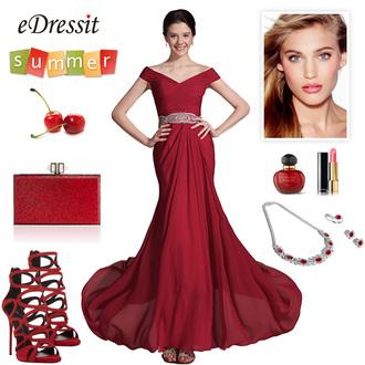 dress edressit fashion beautiful wedding lady