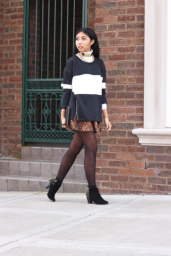 fashion of a novice sweater dress shoes t-shirt bag