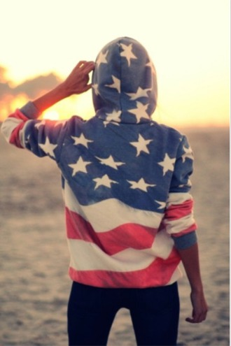 sweater american flag usa flag hoodie