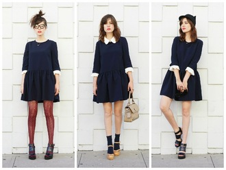 a fashion nerd blogger dress outfit
