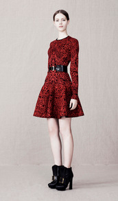dress,lookbook,fashion,alexander mcqueen