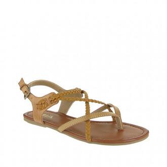 shoes braided mia shoes neutral sandals bikiniluxe