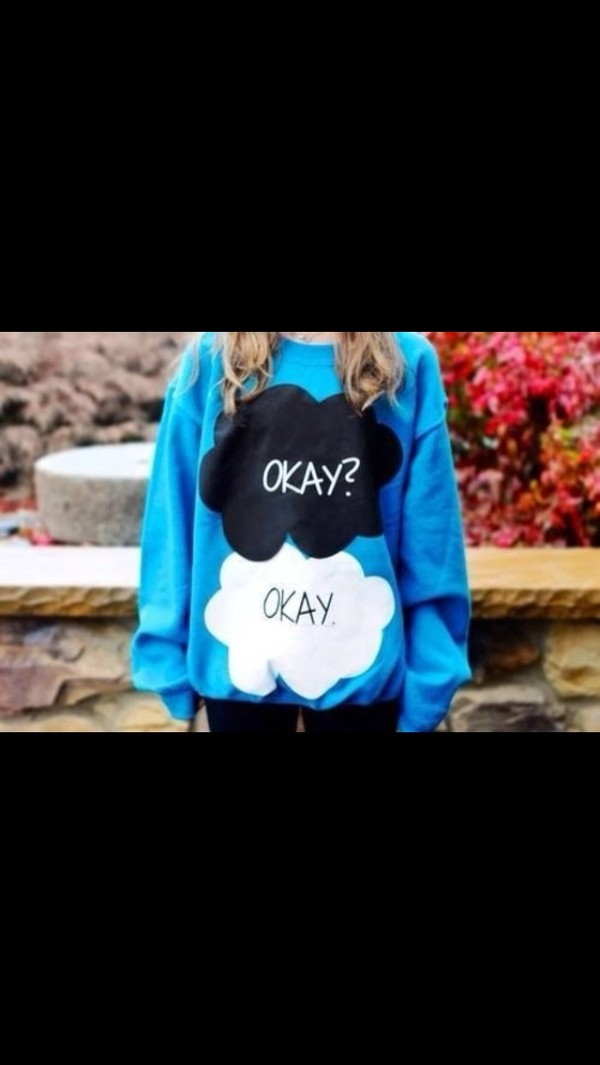 shirt sweater the fault in our stars cute the fault in our stars