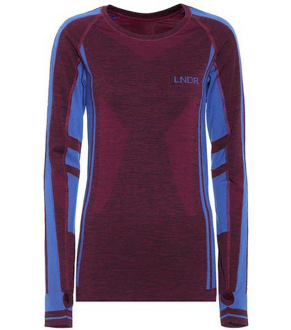 Lndr Colours seamless shirt in purple