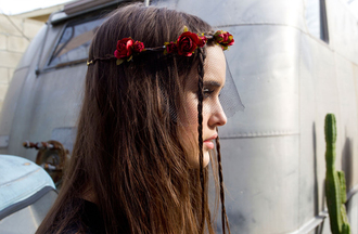 jewels nastygal nastygal.com shopnastygal.com flower headband flower crown cult gaia