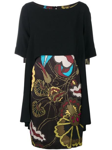 I'M ISOLA MARRAS dress print dress women print black