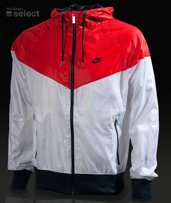 Nike Windrunner Jacket Red And Black Off44 Discounts