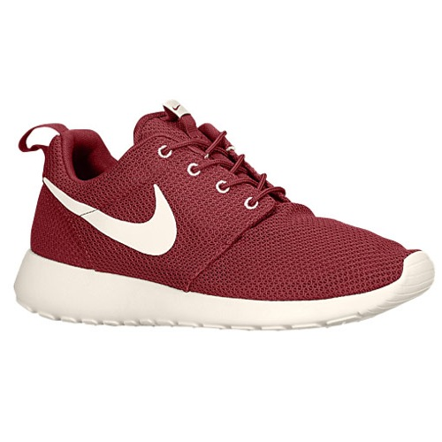 Nike Roshe Run - Men's - Running - Shoes - Team Red/Sail