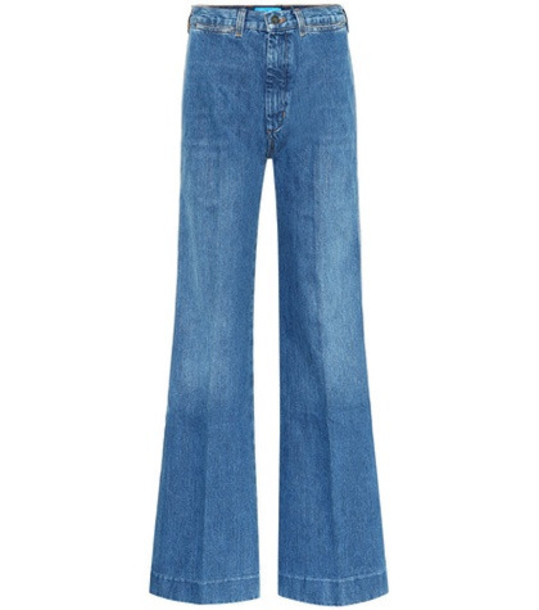 M.i.h Jeans Bay flared jeans in blue