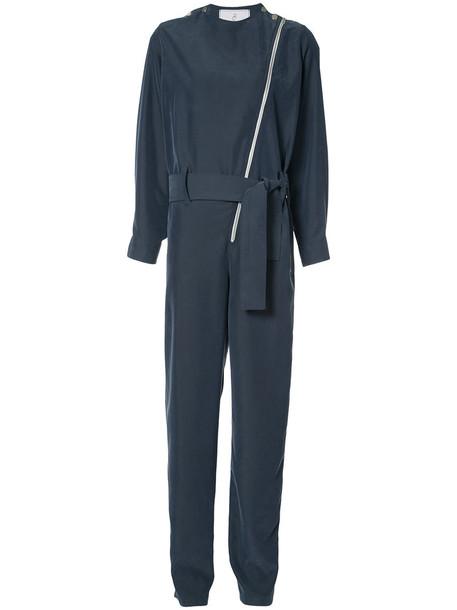 Carolina Ritzler jumpsuit women blue