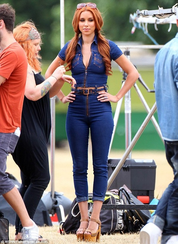 jeans denim jumpsuit