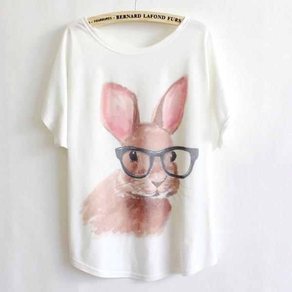 ba6918e392 Girls Womens Short Sleeve Cartoon Cute Cat Animal Print Graphic T ...