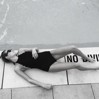 swimwear marysia black swimwear one piece revolve clothing revolve revolveme