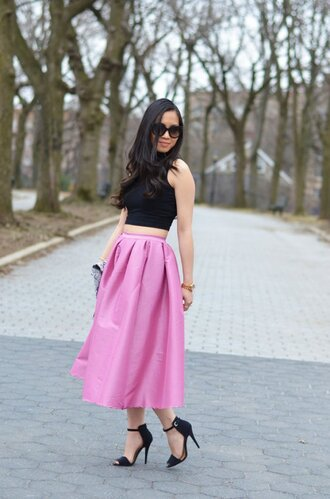 top top blogger lifestyle black top summer top black crop top cute top streetwear streetstyle outfit outfit idea tumblr outfit summer outfits cute outfits maxi skirt