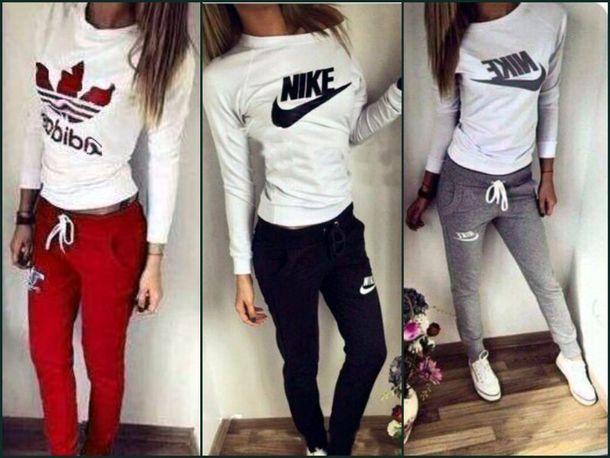 de5fd401e1 jumpsuit adidas letters adidas logo nike logo nike sport suit sport suit  tick trefoil large trefoil