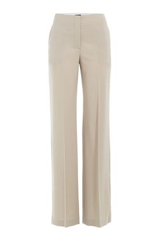 pants wool beige