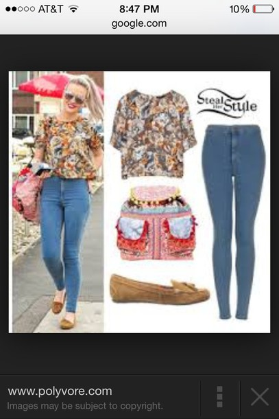 jeans perrie edwards blouse