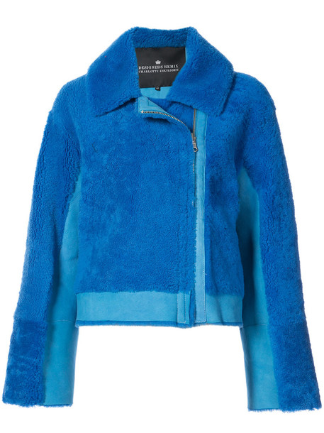 Designers Remix coat women candy blue