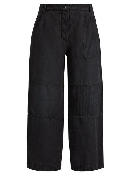 Burberry cropped black pants
