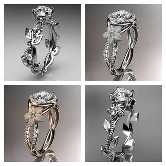 jewels silver ring