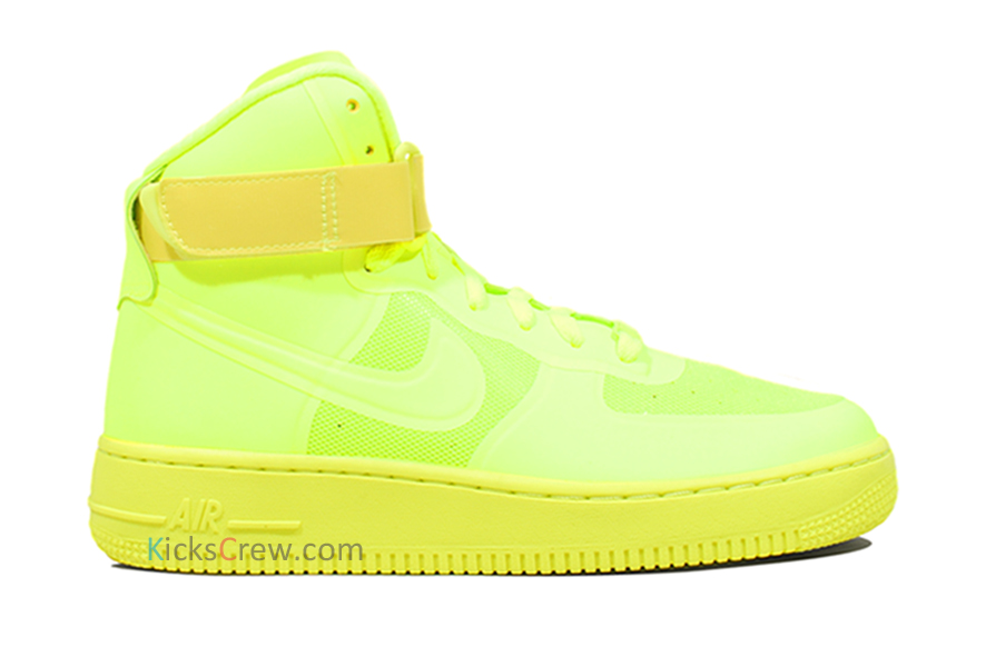 Nike Air Force 1 High Hyperfuse Premium Volt