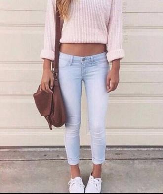 shoes outfit jeans bag purse