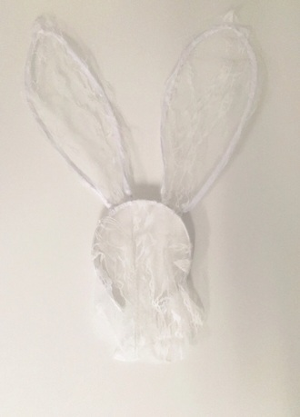 hair accessory headband bunny ears