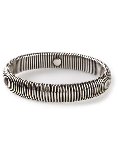metal women grey metallic jewels