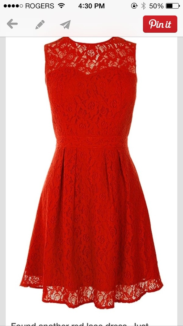 Bridesmaid Dresses Red Lace - Wedding Short Dresses