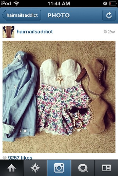 jacket blue jacket high waisted short